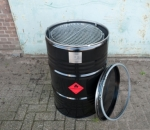 BarrelQ Grilltonne / Grillfass aus Edelstahl
