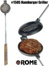 Hamburger Griller aus Gusseisen von Rome Industries