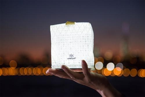 Kühlschrank Led Kaltweiss : Solarpuff designer outdoor camping solarlampe led kaltweiss