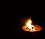 Solix Feuerschale aus 8mm Rohstahl mit edler Rostpatina