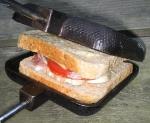 Leckerer Toast im Sandwichmaker