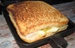 Leckeres Sandwich aus Sandwichtoaster