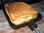 Leckerer Toast aus Sandwichmaker