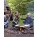 Schwenkgrill System Camp Fire für Lagerfeuer und Feuerschalen