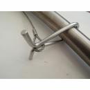 Schwenkgrill System für Lagerfeuer und Feuerschalen - Detail Spange am Galgen