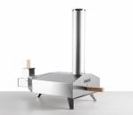 uuni 3 - tragbarer / mobiler Pellet Pizza Ofen aus Edelstahl