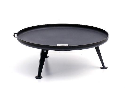 feuerschale niedrig 60 120 gesch tzte oberfl che eisenbams online grill shop f r. Black Bedroom Furniture Sets. Home Design Ideas