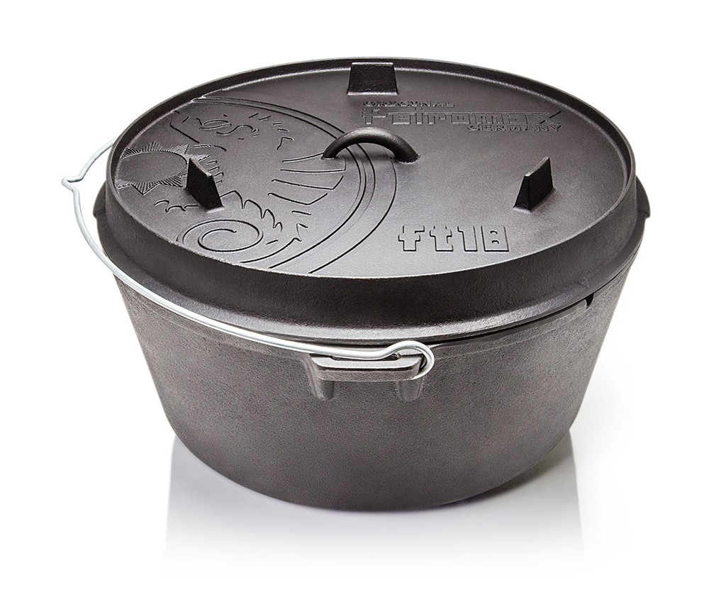 petromax dutch oven ft18 feuertopf ohne f e eisenbams online grill shop f r lagerfeuer. Black Bedroom Furniture Sets. Home Design Ideas