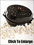 Rome Popcorntopf (Popper) fürs Lagerfeuer t122
